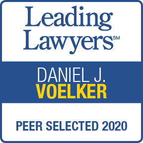 Leading Lawyers - Peer Selected 2020 - Daniel J. Voelker